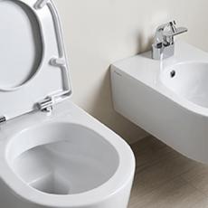 """<span class=""""entry-title-primary"""">Perfekte Badreinigung: Randloses WC von Flaminia</span> <span class=""""entry-subtitle"""">Schnell, einfach und hygienisch</span>"""