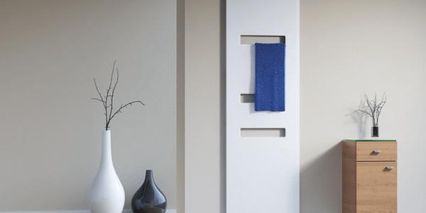Jetzt wird es heiß: Design- und Badheizkörper Ansprechende Badarchitektur, die es in sich hat