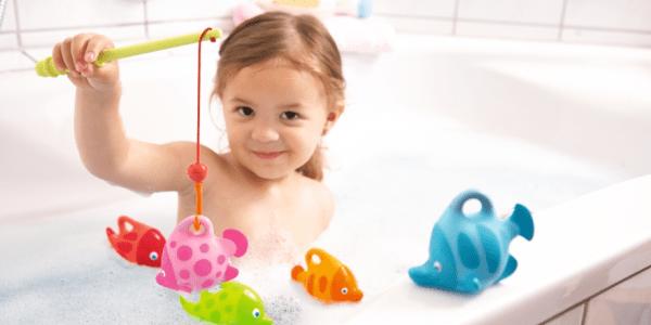 Spritziges Angelvergnügen HABA Badewannenspiel